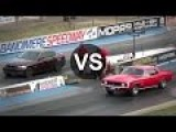 Camaro SS Vs BMW 335i, Evo IX Drag Race