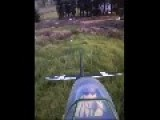 Camera Falls Off Remote Controlled Plane