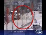CCTV Footage Of Blast In Karachi May 2013
