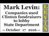 Companies Used Clinton Fundraisers To Lobby State Department