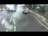 Cyclist Somersaults In The Air After Being Hit By Car In Romford UK