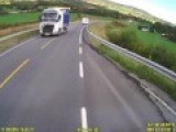 Close Call With Drunk Polish Trucker