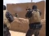 Combat Operation Of Kurdish YPG Anti Terror Special Force During Raid On ISIS Compound In Mabroukah
