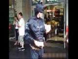 Chatting To Batman And Flash Gordon, Park Street, Sydney,Australia