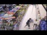 CCTV-Man Assaults Elderly Woman In A Store