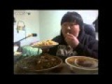 Crazy Korean Guy Eating Food