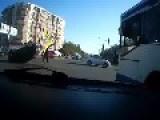 Car Wreck Looks Impossible Perfect Flip..BEEPING CAR ALERT