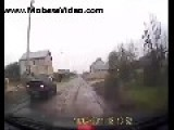 Car Hit By Dog!