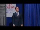 Colbert Does A Ben Carson Entrance