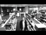 Clever Thief Steals A 42 Inch TV