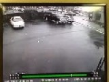 Car Chase Resulting In Parking Lot Crash