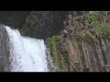 Crazy Backflip Off Spectacular Toketee Falls