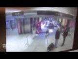 Chicago Train Derailment Caught On Security Camera HD