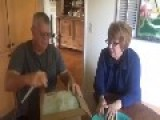 Couple Finds Out They're Going To Be Grandparents