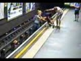 CCTV: Baby Rescued From London Tube Tracks