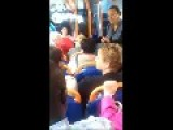 Crazy Lady On UK Bus - Part 1