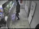 CCTV: Smash And Grab Robbery