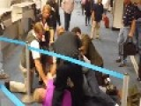 Crowd Take Down Man After Homophobic Attack At Texas Airport