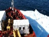 CCGS Amundsen Hits Multiyear Ice At 11 Knots