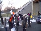 Civil Rights Protesters Block DC 295, March Through Anacostia