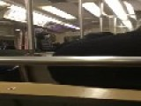 Chicago L Train : Baldy Goes Ballistic On The Brown Line