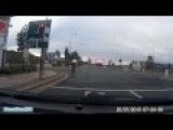 Cyclist Jumps Several Red Lights Salford Quays Stretford 20.7.15