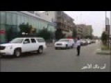 Clearing The Way For Motorcade Of Fallen Iraqi Soldiers PMU Going Through Baghdad