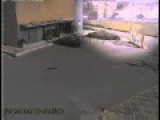 CCTV-Spanish Sports Hall Collapsing
