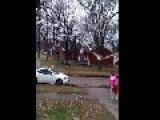 Crazy Woman - Seriously Psycho Video Taken On 12-27-14 Flint Michigan