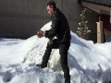 Check Out This Snowball-Throwing Pro In Action