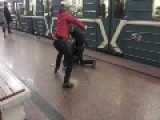 Caucasus Guy Beaten In Metro Because He Sell Drugs Spice