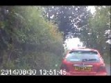 Complete Idiot Overtaking On A Blind Bend