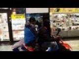 Daylight Robbery In Swedish Shopping Center