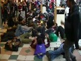 DC Ferguson Protesters Storm Pentagon City Mall