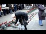 Donetsk. Mourning Rally On Victims