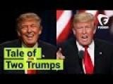 Donald Trump In Mexico Vs. Donald Trump In The U.S