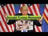 Donald Trump Campaign Funniest Moments Compilation