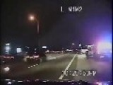 Drunk Driver Hits Two Police Cars - While They Were Arresting A Different Drunk Driver