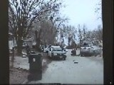 Dash Cam Video Of Police Car Being Rammed