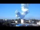 Donetsk - Huge Fire And Explosion In Kuybyshevski Area