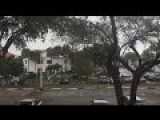 Dramatic Lightning Strike Caught On Camera