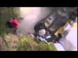 Death Defying Rally Car Crash