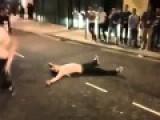 Drunk Irishmen Believe They're Hulk Hogan