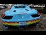 Deadmau5's Nyan Cat Purrari 458 Spider