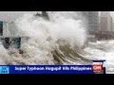 Dangerous Super Typhoon Hagupit On Collision Course With Philippines