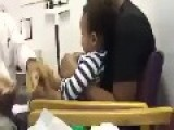 Doctor Do A Funny Way To Inject Baby