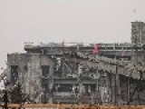 Donetsk Airport...walk In The Old Terminal