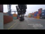 Dock Crane Truck Fail