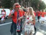Dutch Fans & Ukrainian Journalists