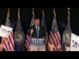 Donald Trump Holds Rally In Manchester, NH 8 25 16